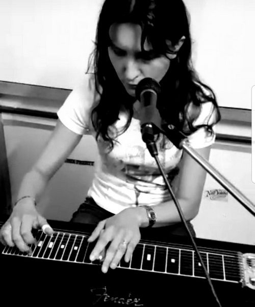 OVERLAND COUNTRY BAND Pedal Steel e voce